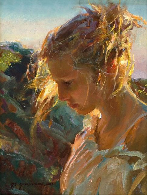 Daniel F. Gerhartz. Американская современная живопись. Картина десятая