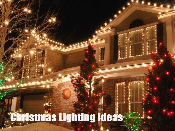 Christmas Lighting Creative Ideas Exterior Christmas Lights Christmas House Lights Christmas Lights