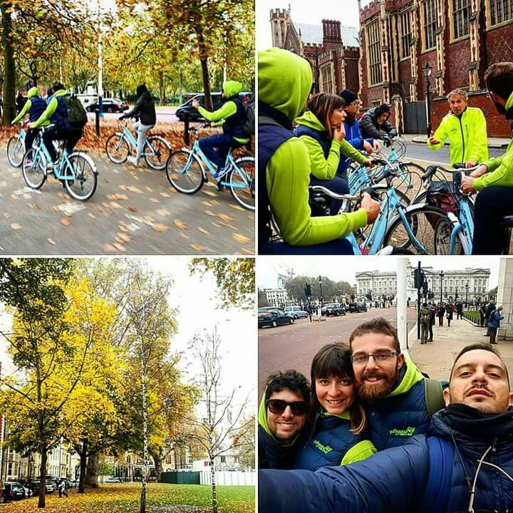 Polignano Made In Love makes a stop in London to attend to WTM!! Meanwhile we do a Bike Tour in the center of London...:D  https://www.facebook.com/polignanomadeinlove/ #polignanomadeinlove #ilovepolignanoamare #life #gioia #bestoftheday #WTM2015 #London #LondonBicycle #WeAreInPuglia #WeAreInPolignano #visitpuglia #discoveringpuglia #polignanolovers