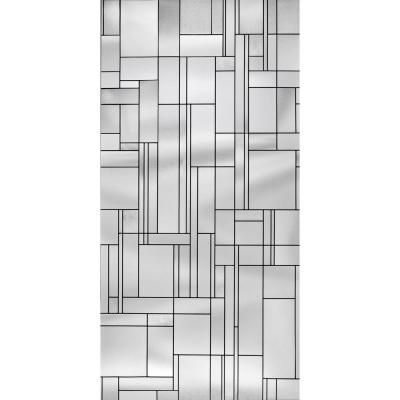 Artscape 36 In W X 72 In H Skyline Decorative Window