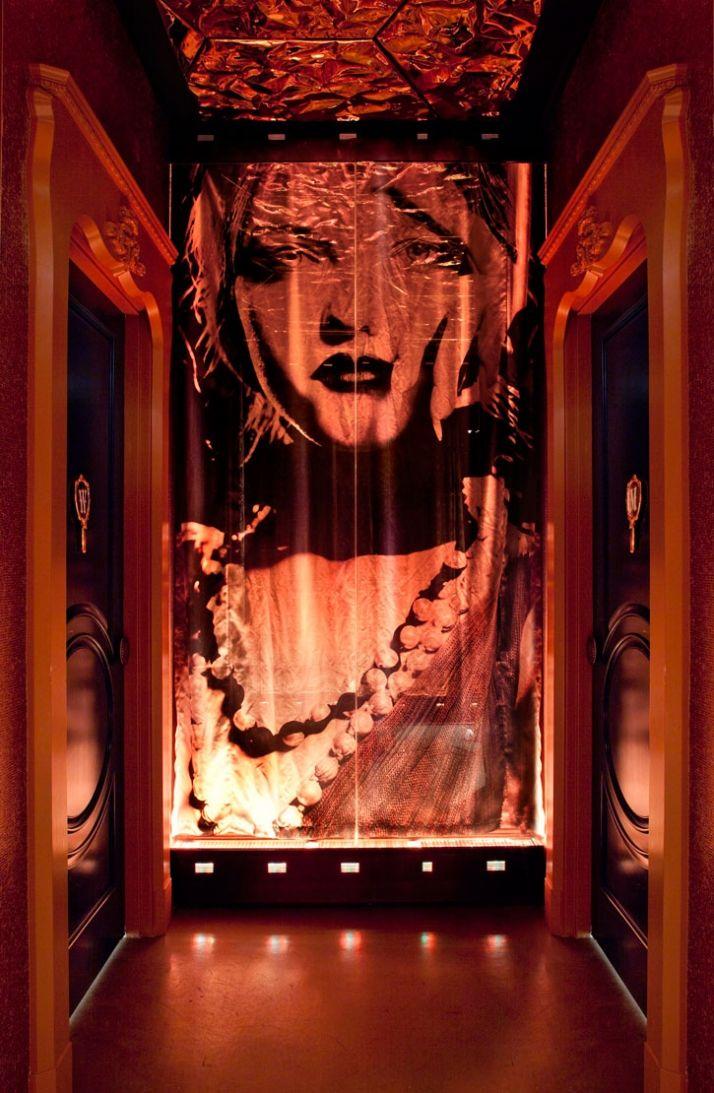 Vanity nightclub by Mr Important designs Las