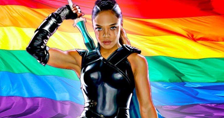 Thor: Ragnarok's Valkyrie Is the MCU's First LGBT Superhero -- Tessa Thompson confirms Valkyrie is bisexual in Thor: Ragnarok. -- http://movieweb.com/thor-ragnarok-valkyrie-bi-sexual-marvel-tessa-thompson/