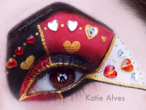 Card Game Casino Makeup - by Katie Alves