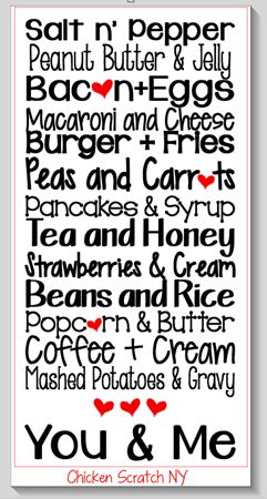 #Free #Silhouette Cut File for Kitchen Love Subway Art