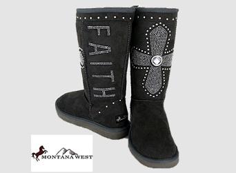 rhinestone cowgirl ugg style boots