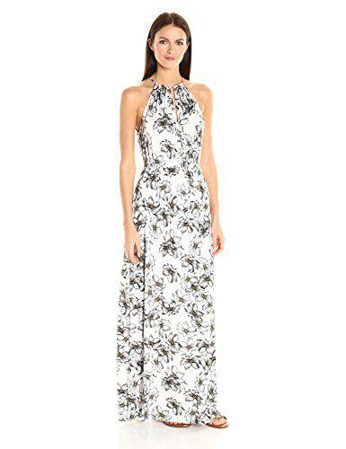 CLAYTON-Womens-Ivy-Floral-Print-Maxi-Dress