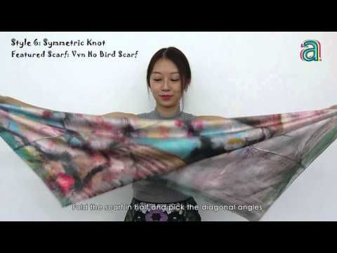 Learn 20 Different Ways to Wear a Scarf in Less Than 5 mins at MakeMeChic.com - YouTube