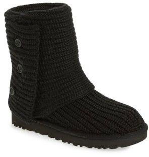 Women's Ugg Classic Cardy Ii Knit Boot