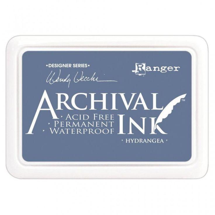 Archival Ink - Hydrangea