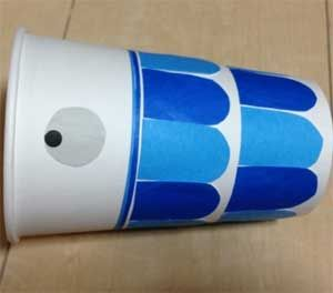 こいのぼりを簡単手作り工作!紙コップや画用紙で子供と作ろう | コタローの日常喫茶