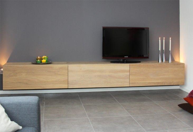 zwevende tv meubel - Google zoeken