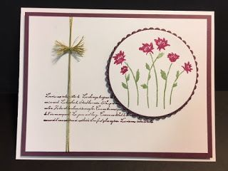 My Creative Corner!: Background Bits Hostess Set Card, Stampin' Up!, Rubber Stamping, Handmade Cards