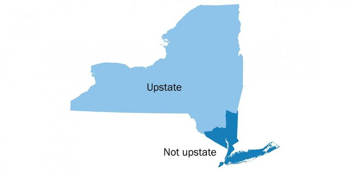 So, what is 'upstate' New York, exactly? - The Washington Post 20160419