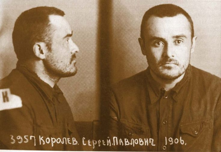 """Among the famous figures of science and culture """"enemies of the people"""" were: Soviet scientist, designer Sergei Korolev"""