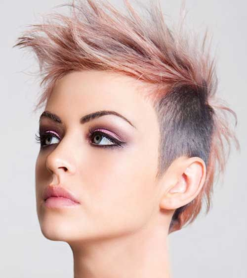 Edgy Punk Haircuts: 25+ Best Ideas About Short Punk Haircuts On Pinterest
