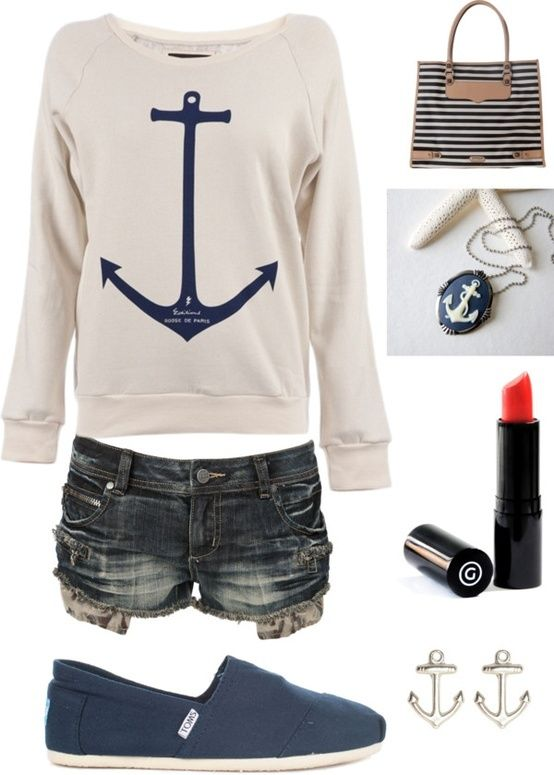 love the anchor outfit!!