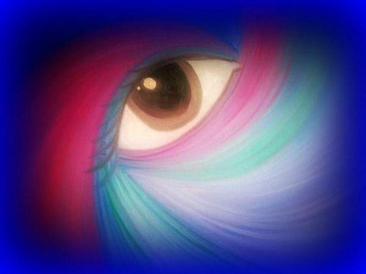 cosmic eyes | Cosmic Eye Painting by Susan Solak - Cosmic Eye Fine Art Prints and ...