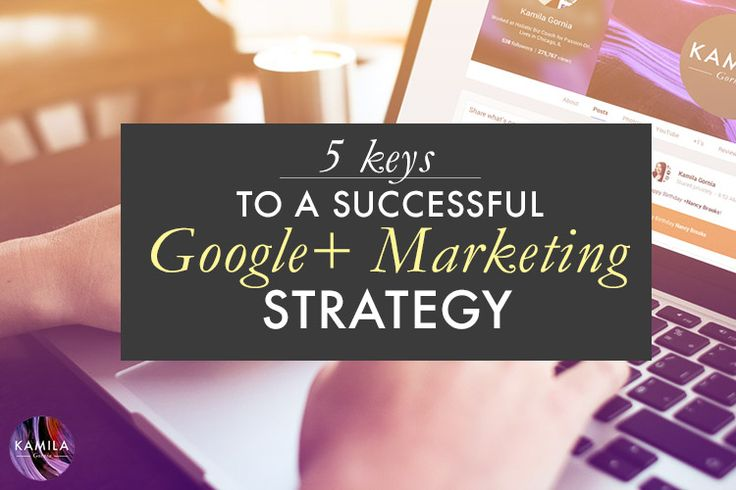 If you're trying to get accustomed to using Google Plus for Business, you're in good company. In this post, you will learn five keys to a successful Google Plus Marketing Strategy.