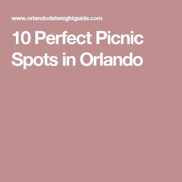 10 Perfect Picnic Spots in Orlando