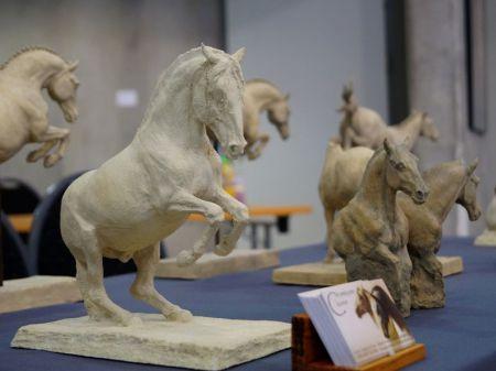 IV Festiwal Sztuki Jeździeckiej - ceramiczne konie