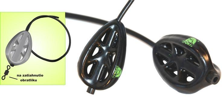 Krmítko pogumované Method - priebežné (bužirka 40cm) - KRMÍTKO na feeder - Velkosklad rybárske potreby SPORTS-sonary motory člny Zebco Browning Salmo Sportex Lowrance Black Cat