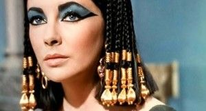 Overplayed as simplistic and obstinate Elizabeth Taylor as Cleopatra (1963)