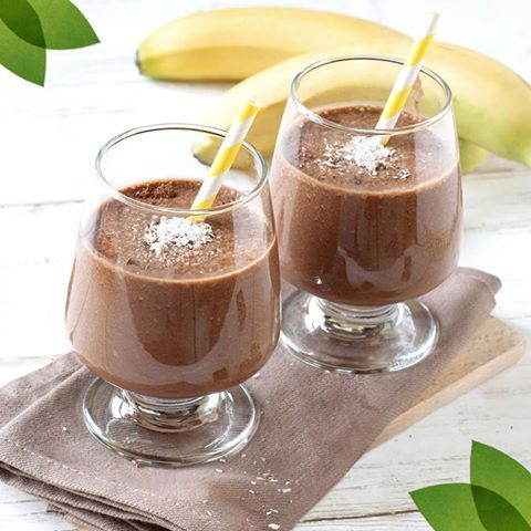 Choc Shot, almond milk, banana, almond butter and a quick whizz and you'll be powering through the 'to do' list feeling chipper!   #SweetFreedom #ChocShot #ChocolateSmoothie #HealthyShakes #HealthyRecipes #CleanEating #Vegan #SlimmingWorld #WeightWatchers