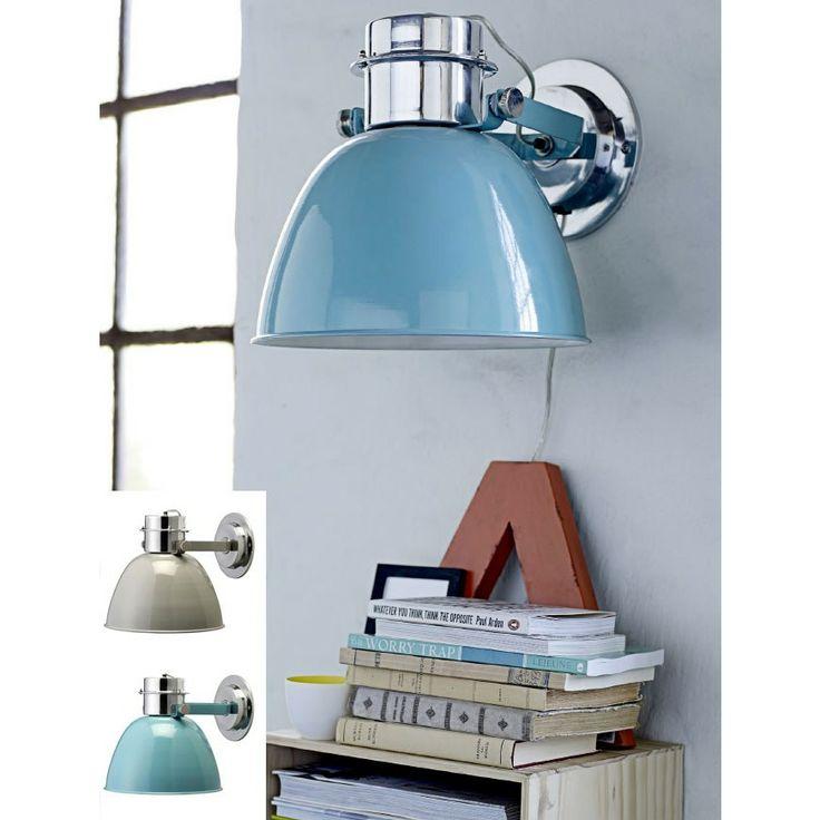 Design Belysning AS - Bloomingville Vegglampe Grå/Aqua