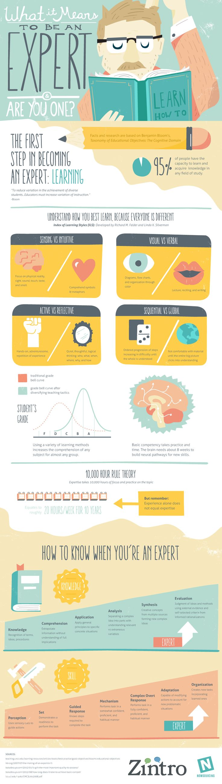 Are You a Real Expert or a Faker? [INFOGRAPHIC] - http://dashburst.com/infographic/expert-or-faker/