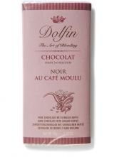 Dolfin 70g. Ciocolata neagra cu cafea macinata