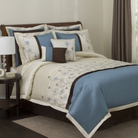 20 best images about Blue and Brown Bedding on PinterestLUSH