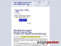 Yoga Weight Loss Secrets: Lose weight with yoga; yoga weight loss ebook,  exercise  program