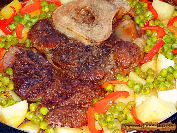 rasol de vita cu legume la cuptor - Papamond 17