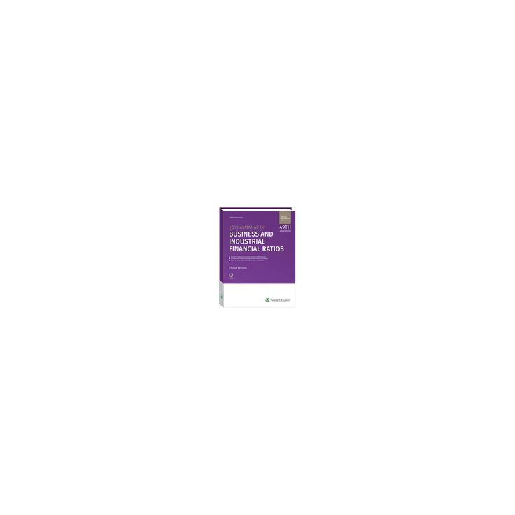 Almanac of Business & Industrial Financial Ratios 2018 (Paperback) (Philip Wilson)