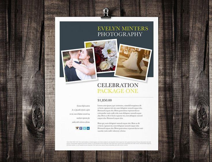 "Single Page Brochure Template - ""Minter"""