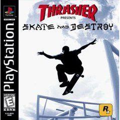 Thrasher Skate and Destroy