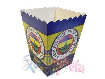 Fenerbahçe Doğum Günü İkramlık Mısır Kutuları