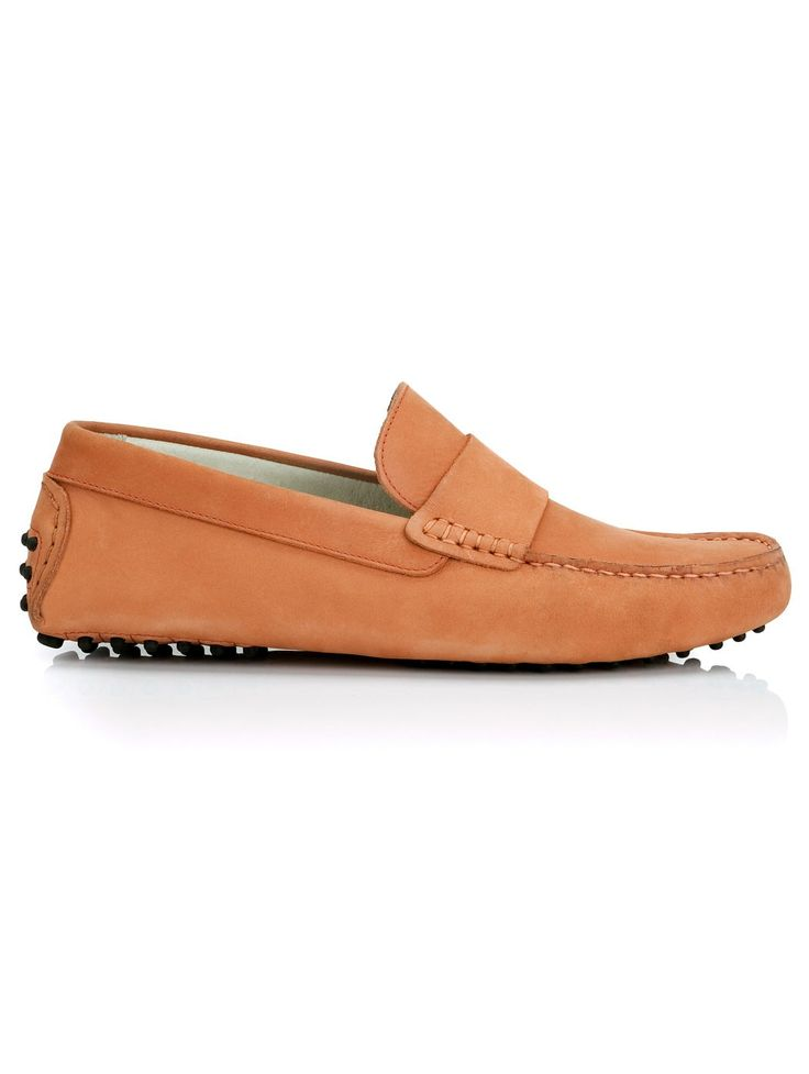 Sunburn Orange Loafers for Men - Men's Casual Loafers | Island Company