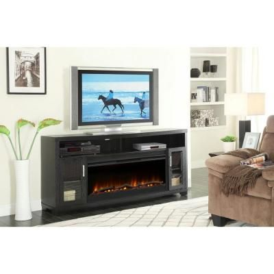Muskoka 70 In Durant Media Mantel Electric Fireplace Mtvs4242se The Home Depot House