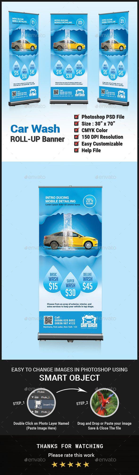 37 best car wash images on pinterest lavado de coches lavado de car wash roll up banner solutioingenieria Images