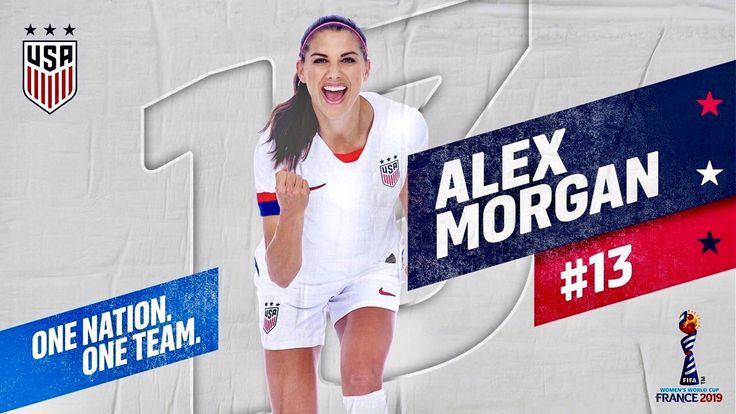 US womens soccer star Alex Morgan talks fight for pay