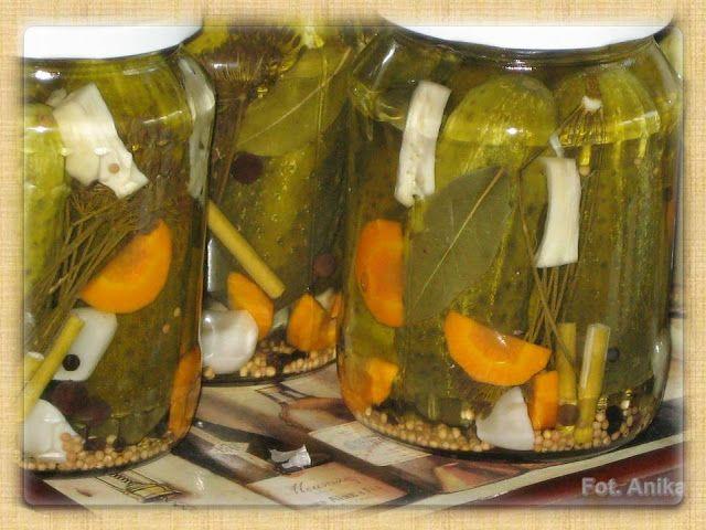 Domowa kuchnia Aniki: Przetwory
