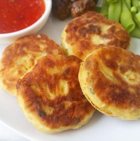 Marokkaanse aardappelkoekjes - maakouda