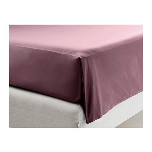 """IKEA - GÄSPA, Sheet set, Full, , Sateen-woven bed linen in cotton is very soft and pleasant to sleep in, and has a pronounced luster that makes it look beautiful on your bed.The combed cotton gives the bed linen an extra smooth and even surface which feels soft against your skin.Fits mattresses with a thickness up to 13"""" since the fitted sheet has elastic edging."""