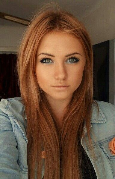 Such a beautiful color Strawberry blonde hair color