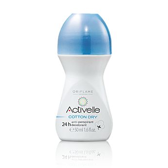 Activelle Anti-perspirant 24h Deodorant Cotton Dry. It's awesome!