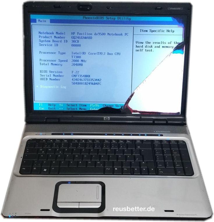 HP Pavilion dv9500 - dv9585eg Notebook |  2GHz Intel Core2 Duo | 17 Zoll | Teild