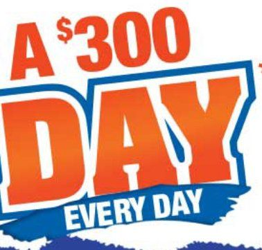45 will win a $300.00 MasterCard Prepaid Gift Card. Text PAYDAY to short code 50563 for a chance to win a Daily Prize or call toll-free 1-866-999-2644, and follow the automated instructions to play for a chance to win.