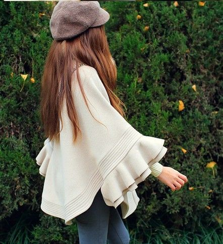 Special Collars cloak woolen cape