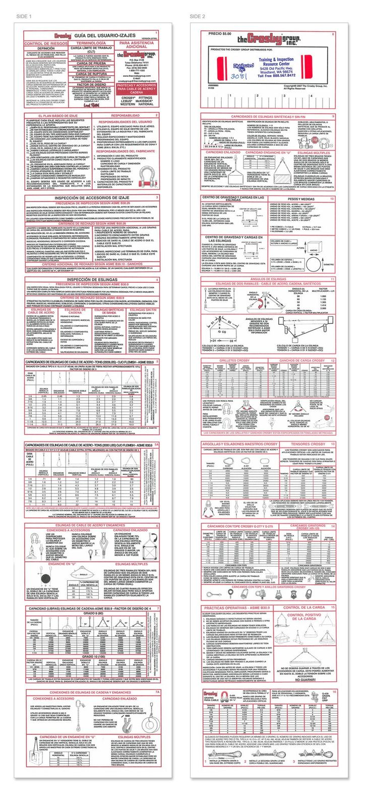 The 106 best crane rigging books images on pinterest crane crosby rigging guide for lifting spanish fandeluxe Images